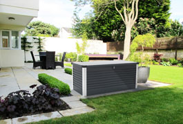 Coffre de jardin en m�tal Patiobox Large
